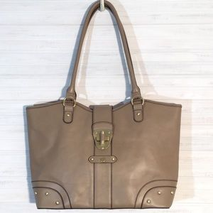 ETIENNE AIGNER LEATHER Tote LIKE NEW!